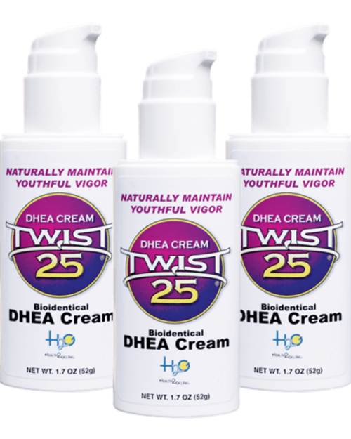 Health and fitness with DHEA hormone cream